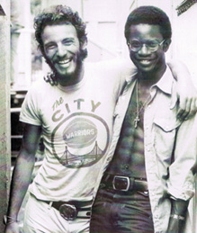 Bruce Springsteen et David Sancious