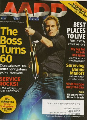 couverture aarp springsteen